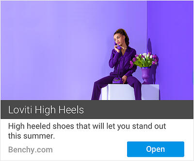 Example of a wrong combination of assets for Responsive Display Ads