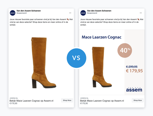 Comparison of a generic DPA vs. a branded one with persuasion elements from Van den Assem